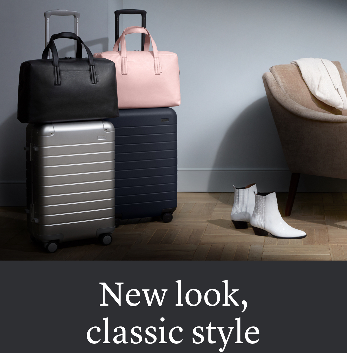 New look, classic style